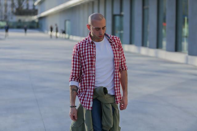outfit uomo primavera via calzebigi