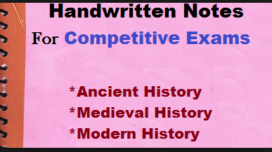 Complete Indian History (Hindi) Hand Written Notes for All