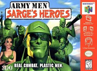 Army Men هي لعبة فيديو تكتيكية في الوقت الحقيقي تم تطويرها ونشرها بواسطة شركة 3DO لـ Microsoft Windows و Game Boy Color  في بداية هذه اللعبة ، تم تكليف Sarge بمهمة إعادة بسيطة على الخط الأمامي - حدد بعض المستندات - التي تتم في 3 مناطق: الصحراء ، جبال الألب و Bayou. في نهاية هذه اللعبة ، يجد Sarge بوابة غريبة تؤدي إلى البعد التالي - العالم الحقيقي - واللعبة التالية. تعتبر هذه اللعبة كلاسيكية من قبل المعجبين ، وهي واحدة من الألعاب القليلة التي تعرض في الواقع Sarge وفريقه كمجرد بيادق في معركة أكبر. هناك ميزتان تجعل هذه اللعبة فريدة من نوعها تقريبًا في السلسلة ، وهي رواية القصص (محاكاة ساخرة باللون الأبيض والأسود من العصور القديمة ، على غرار الحرب العالمية الثانية) وحقيقة أنها غالبًا ما تصور خطًا أماميًا أو قتالًا آخر لا ينطوي على الشخصيات.