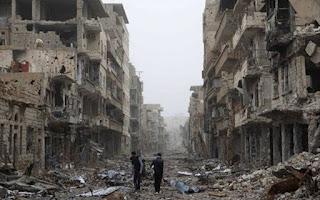 17 Desa di Idlib Hancur dalam Ofensif Rezim Syiah Nushairiyah
