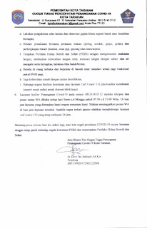 Press Release COVID-19 Tarakan 19 Mei 2020 - Tarakan Info