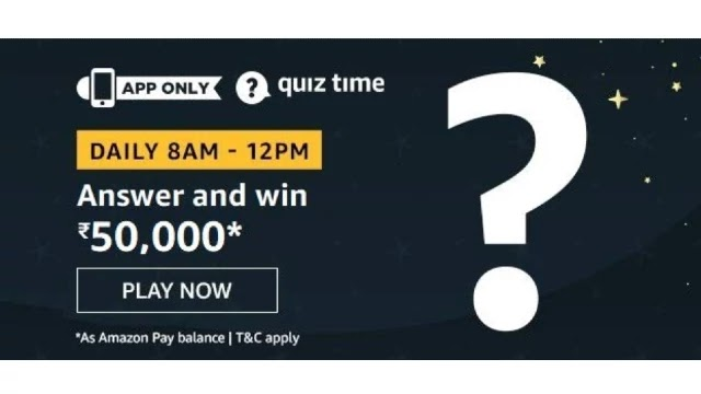 Amazon-Quiz-Answers-For-Today-9th-May-2020