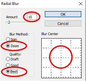 Cara Membuat Efek Zoom Filter Radial Blur Photoshop