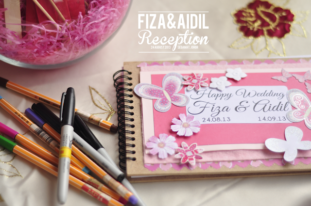 Review/DIY :Guestbook Wedding Azhafizah