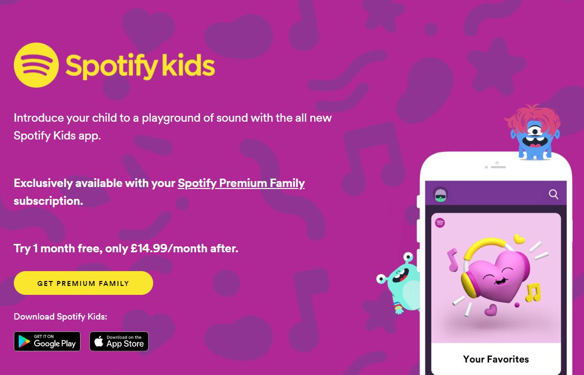 Spotify Kids - 專為兒童量身打造的音樂播放程式