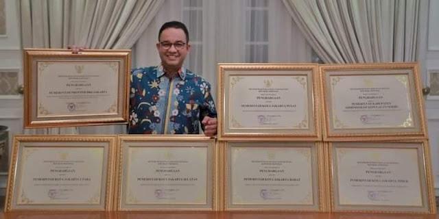 Borong 7 Penghargaan, Anies: Alhamdulillah Pelaksanaan HAM Merata di Wilayah DKI