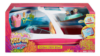 BARBIE y los delfines mágicos - Barco Visión Submarina | Mattel 2017 | Película CAJA JUGUETE