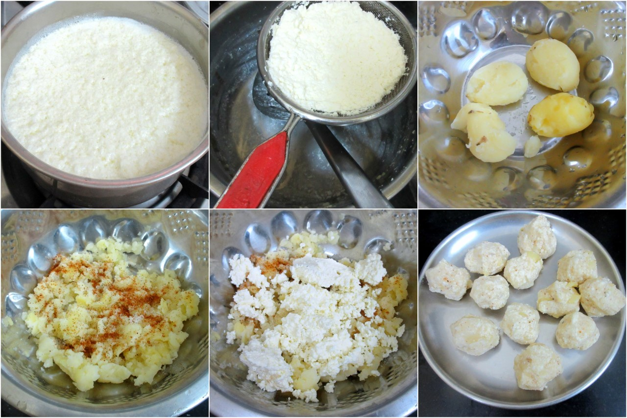 how to make aloo paneer kofta in hindi