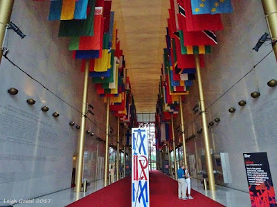 Inside of the Kennedy Center Washington DC