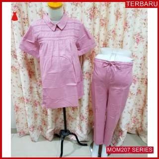 MOM207B17 Baju Setelam Hamil Bertha Menyusui Bajuhamil Ibu Hamil