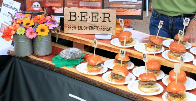 Burgers And Beer = A Winning Combination
