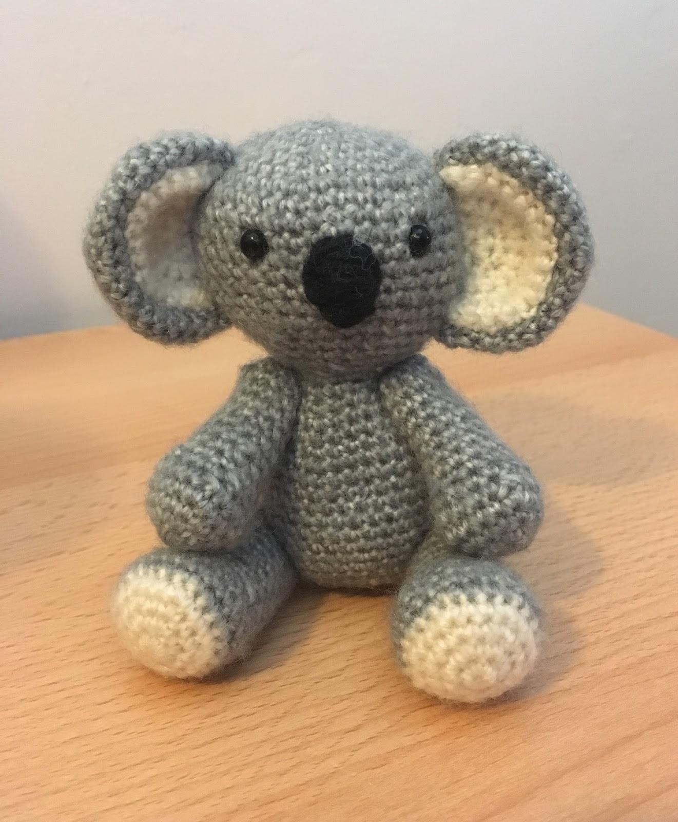 Boeloe, crochet koala bear pattern | Son's Popkes | 1600x1321