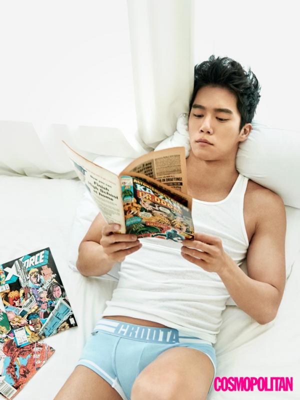 Ha Suk Jin For October 2018 Cosmo   Ha suk jin, Handsome