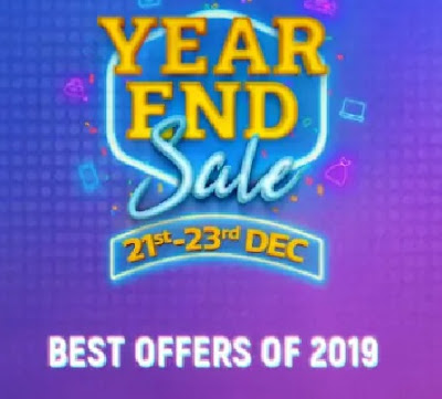 Flipkart Year End Sale 2019 | Offers and Deals