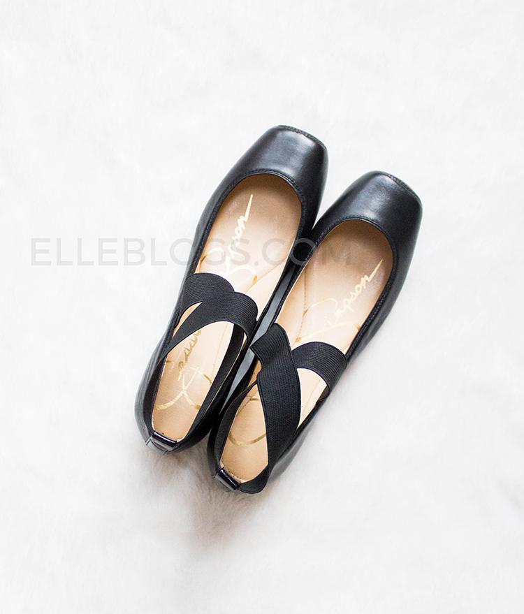 df0d88b01f49 Review  Jessica Simpson Mandalaye Ballet Flats - Elle Blogs