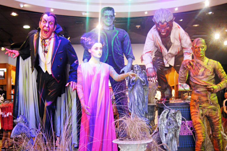 Halloween Horror Nights 2019 universal monsters