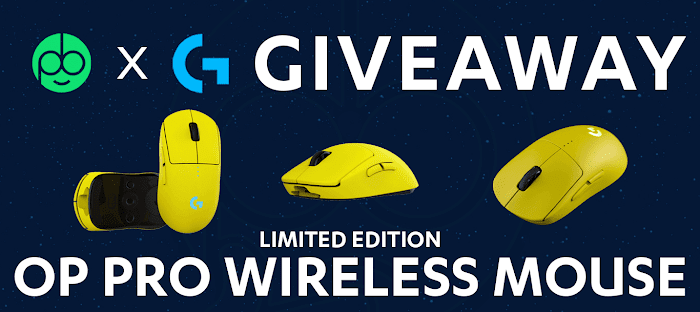 LIMITED EDITION OP G Pro Wireless Mouse Giveaway (3 Lucky Winners)