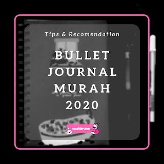 bullet journal murah 2020
