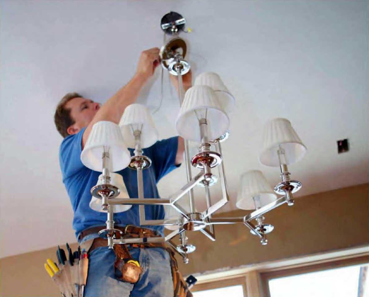 Instalaciones el ctricas residenciales 8 pasos para - Instalar lampara techo ...