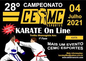 28º Campeonato CEMC de Karate On-Line - 1ª Etapa