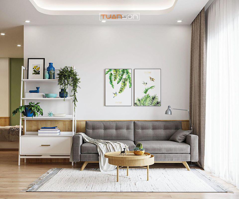 Thiết Kế Phòng Khách Phong cách Scandinavian tối giản & đẹp mắt
