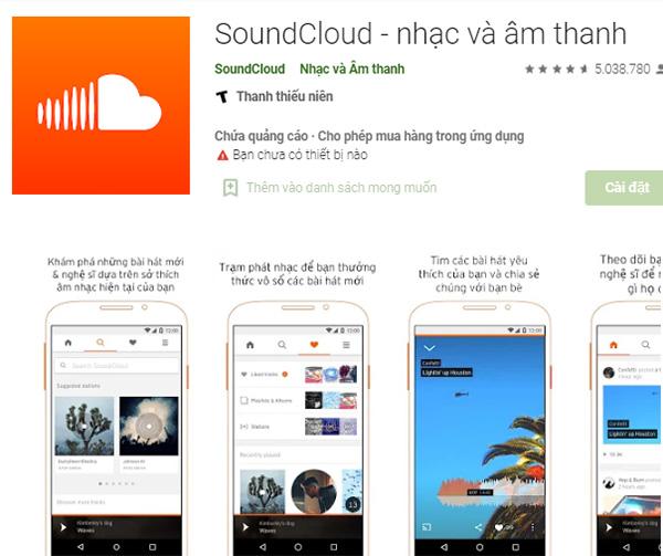 Download SoundCloud - Tải về máy tính và điện thoại mới nhất c