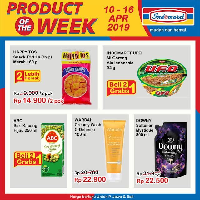#Indomaret - #Promo #Katalog Product OF The Week Periode 10 - 16 April 2019