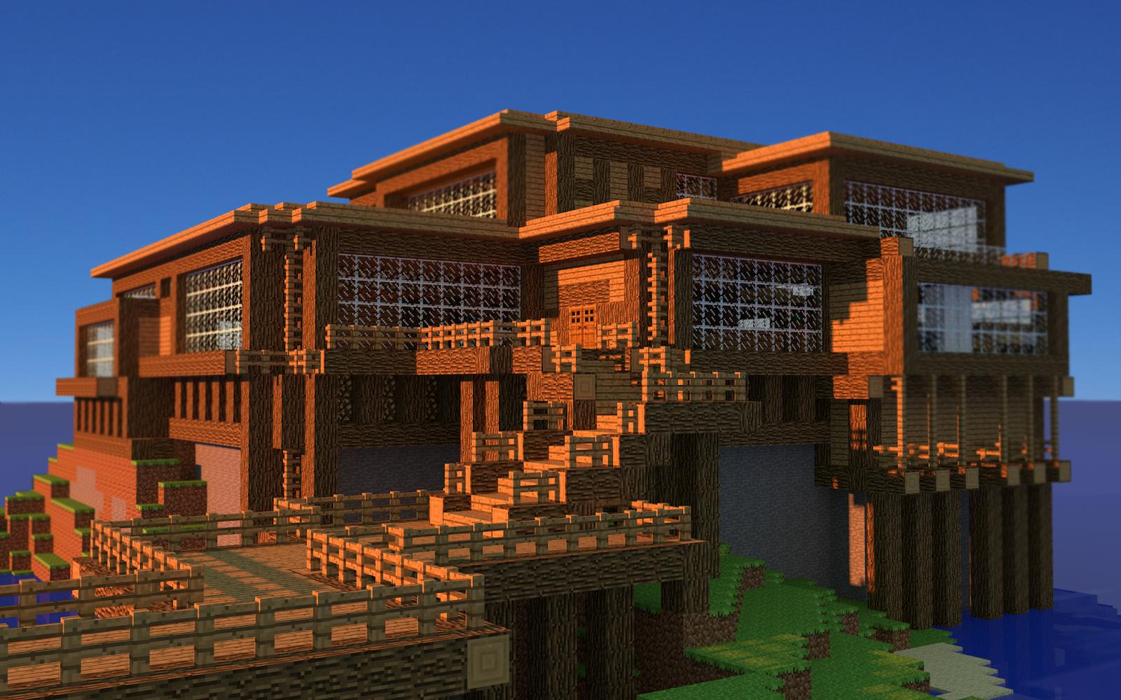 La Plus Belle Maison Du Monde Minecraft Gamboahinestrosa