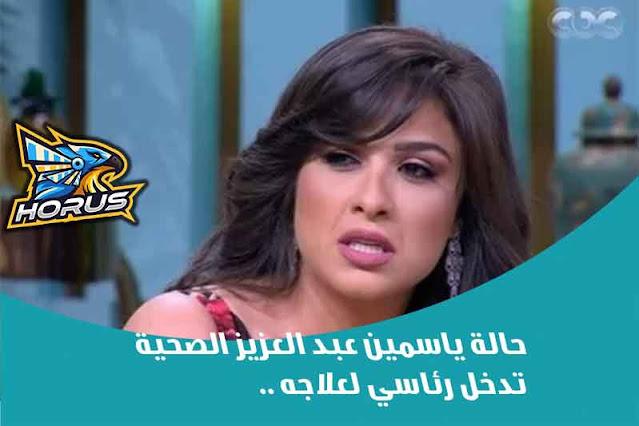 حالة ياسمين عبد العزيز