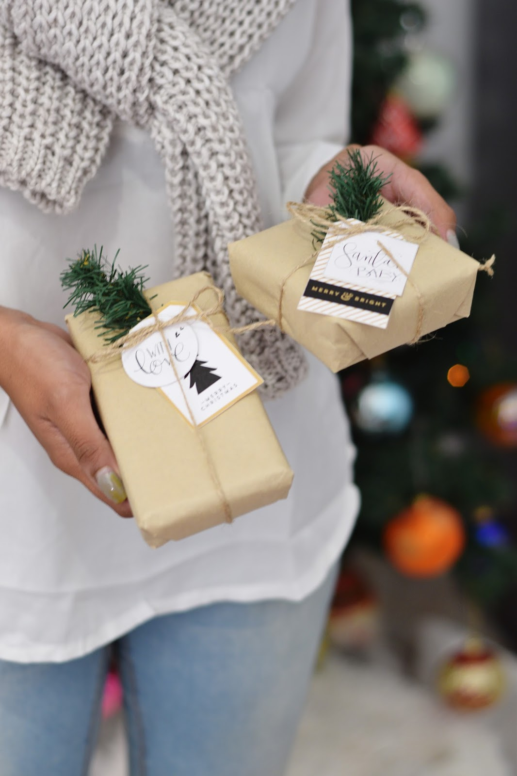 gift wrapping ideas printable tags 2015