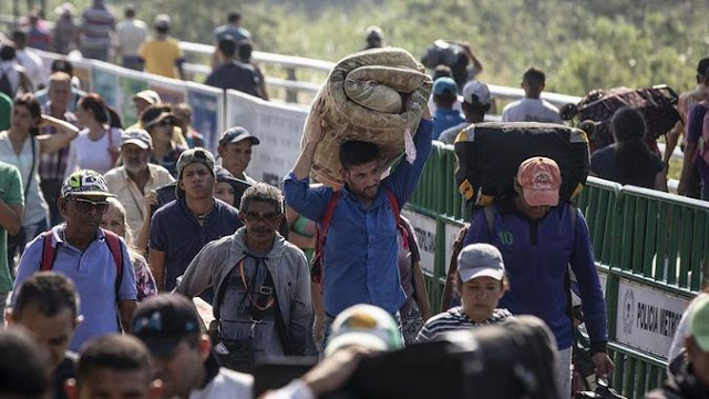 El éxodo venezolano no se detiene y es cada vez más masivo