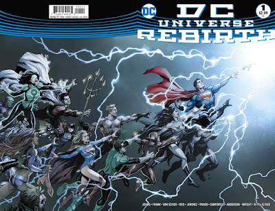 DC Rebirth Issue 1 Cover