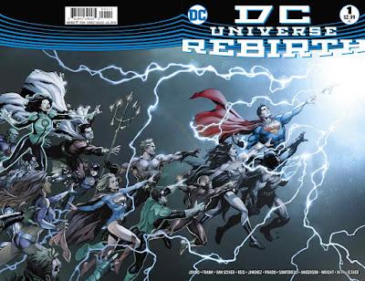DC Rebirth Issue 1 Cover