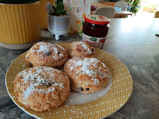 first attempt at scones