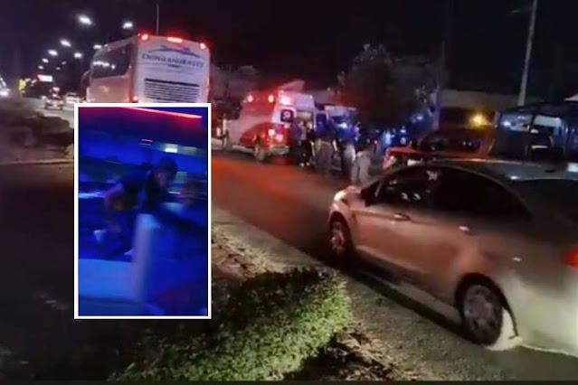 """Video: En tierra donde El CJNG y El CDS mantienen batalla sangrienta, así fue el ataque a Bar """"Amnecia"""" en Zacatecas con saldo de 2 muertos y 3 heridos"""
