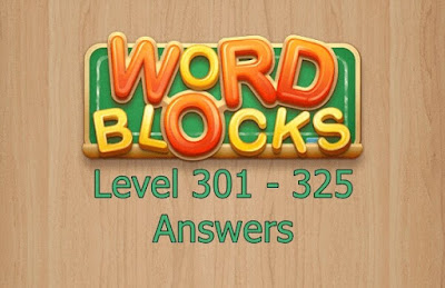 Word Blocks Level 325 Answers