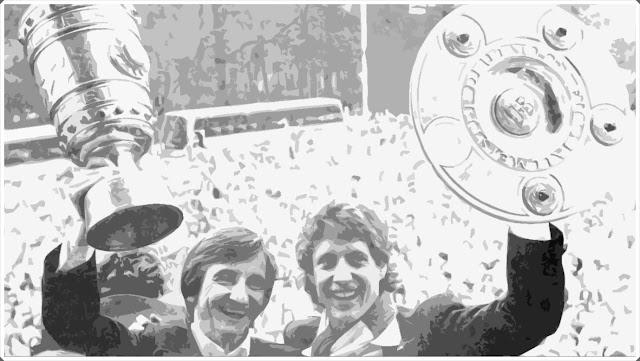 Double Koln 1977-78 Bundesliga Pokal