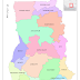 Regional Map of Ghana: Map of Ghana's New 16 Regions