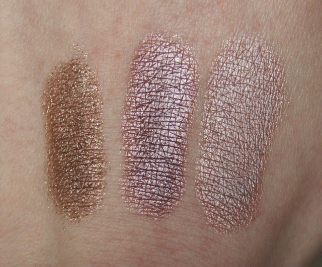 chanel illusion d'ombre initiation fatal bourjois color edition petale de glace cream eyeshadow swatches