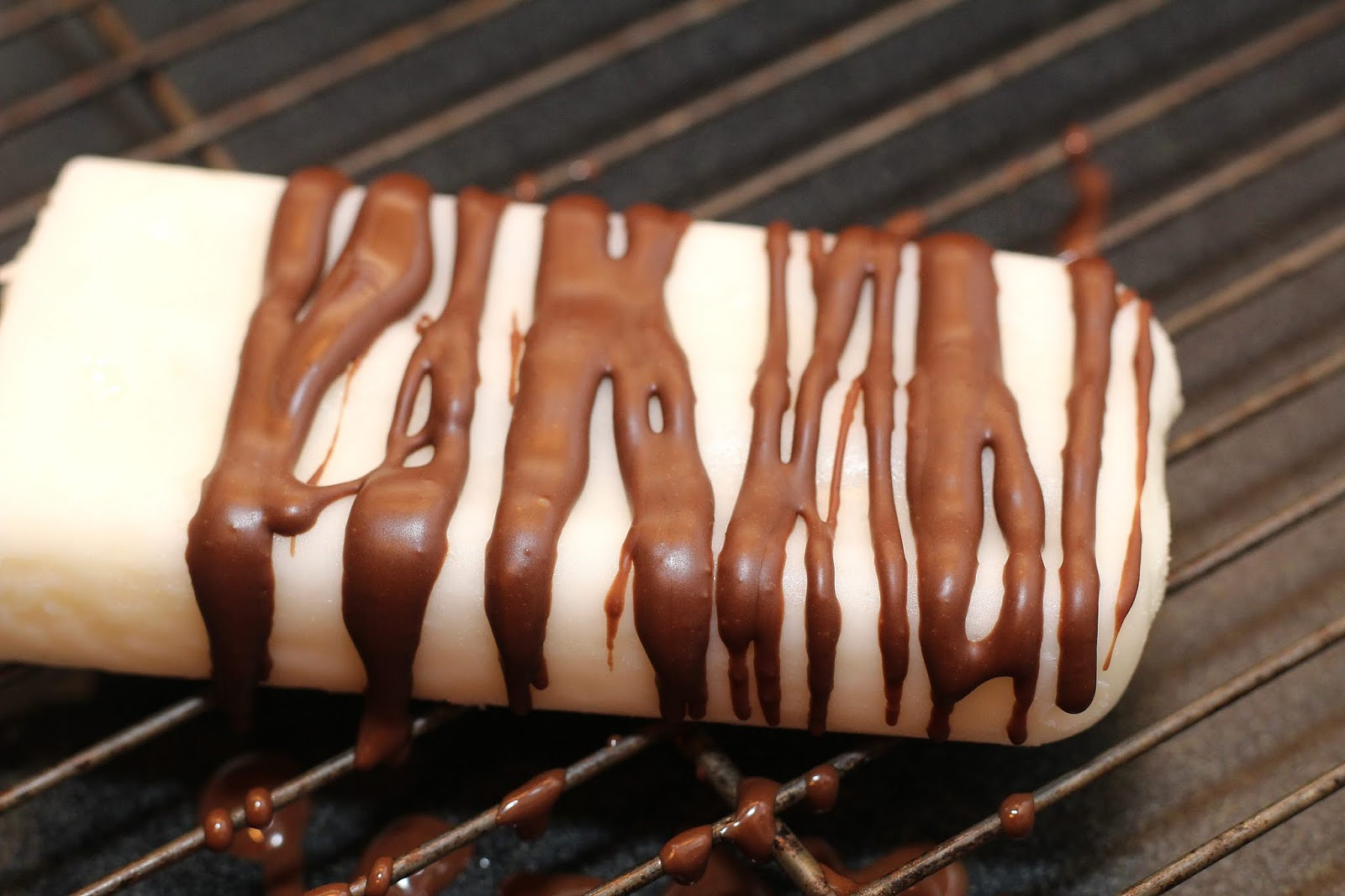 chocolate drizzle