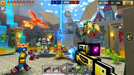 Pixel Gun 3D Mod Apk Obb for Android Download