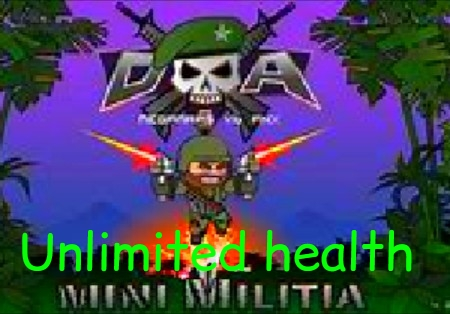 Mini militia hack apk download unlimited health