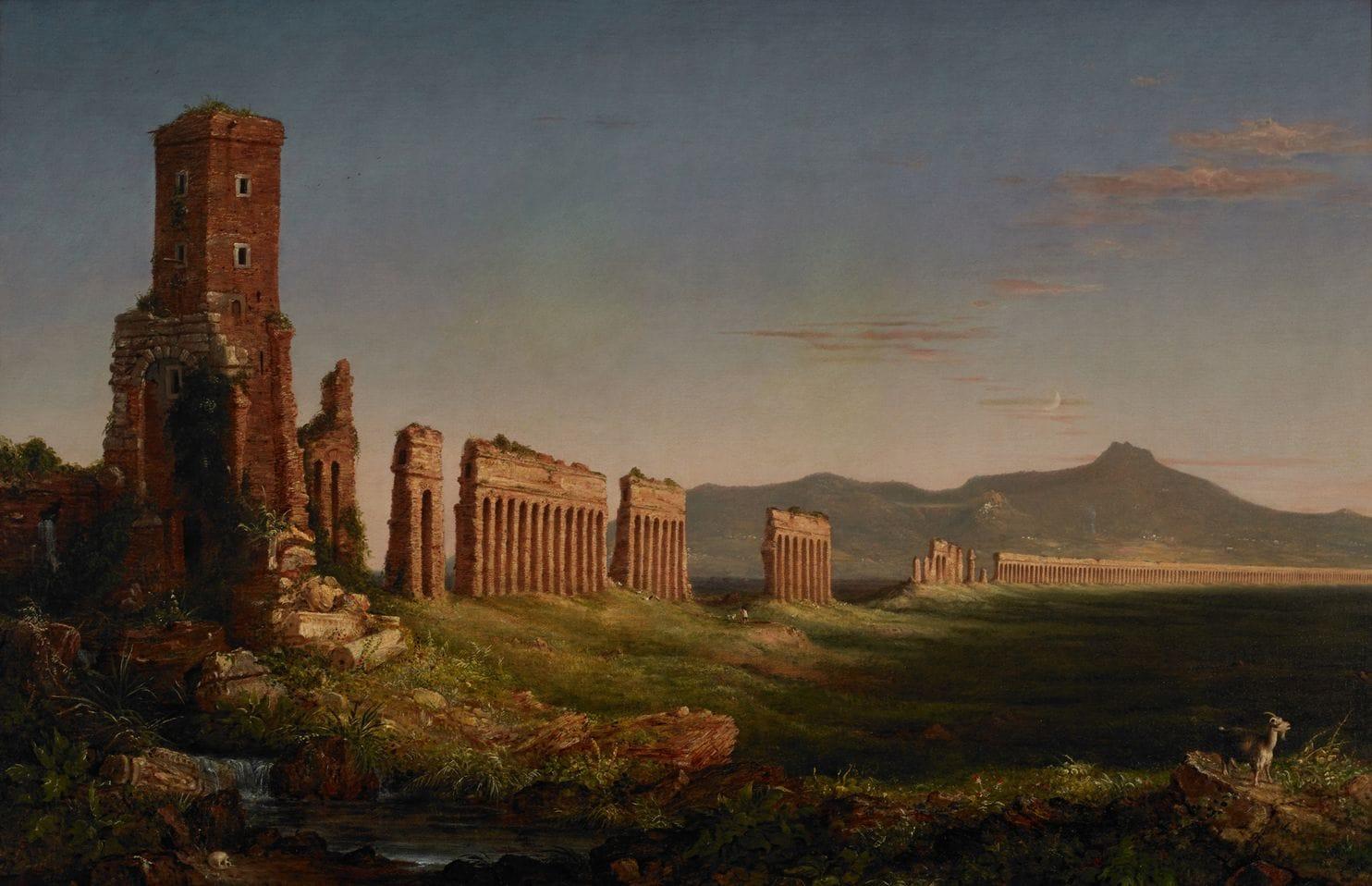 Thomas Cole Aqueduct near Rome