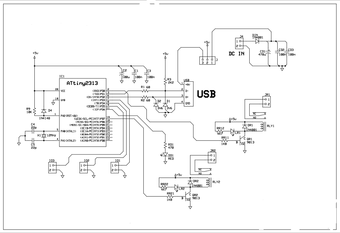 Laporan Uas Interface Usb 2relay