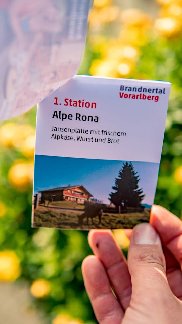Kulinarische Genusswanderung – Bürserberg | Wandern Brandnertal | Wanderung Vorarlberg 04