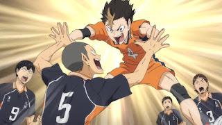 ハイキュー!! アニメ 3期2話 | 西谷夕 田中龍之介 | Karasuno vs Shiratorizawa | HAIKYU!! Season3
