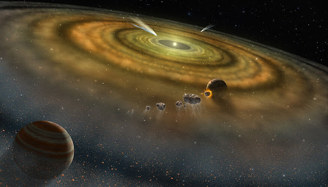 Solar system formed in less than 200,000 years