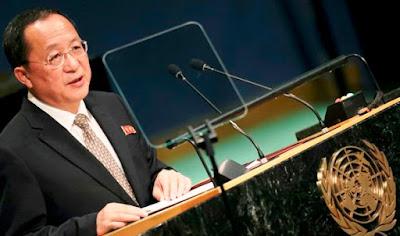 Pidato di Sidang PBB, Menlu Korut: Miliki Senjata Nuklir adalah Kebijakan Negara Kami