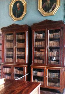 Szafy biblioteczne w Pałacu Radziwiłłów w Nieborowie
