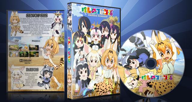 Kemono Friends   Cover DVD  